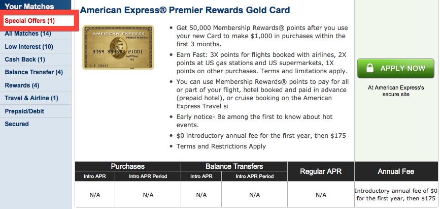 American Express Premier Rewards Gold Card Travel Partners