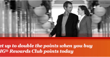100% Bonus When You Buy IHG Rewards Club Points