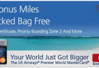 US Airways Mastercard 40000 Sign Up Bonus