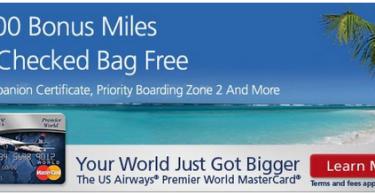 US Airways Mastercard 40000 Sign Up Bonus