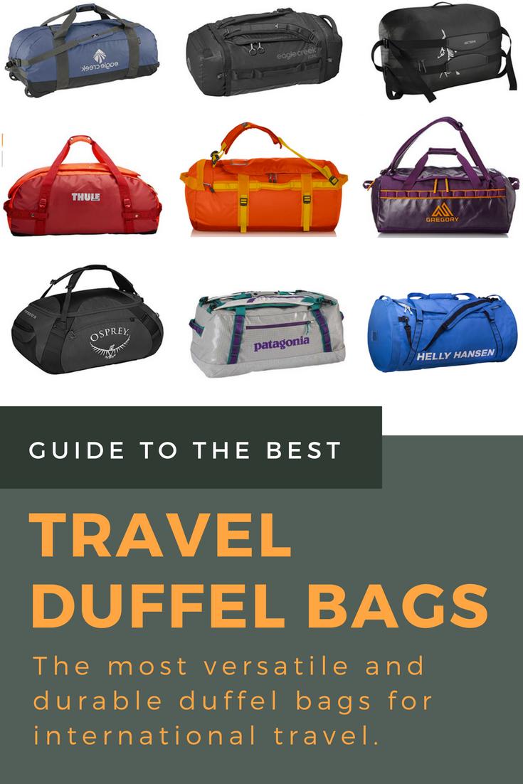 Best Travel Duffel Bags 2018 Detailed Reviews Helpful Buying Guide