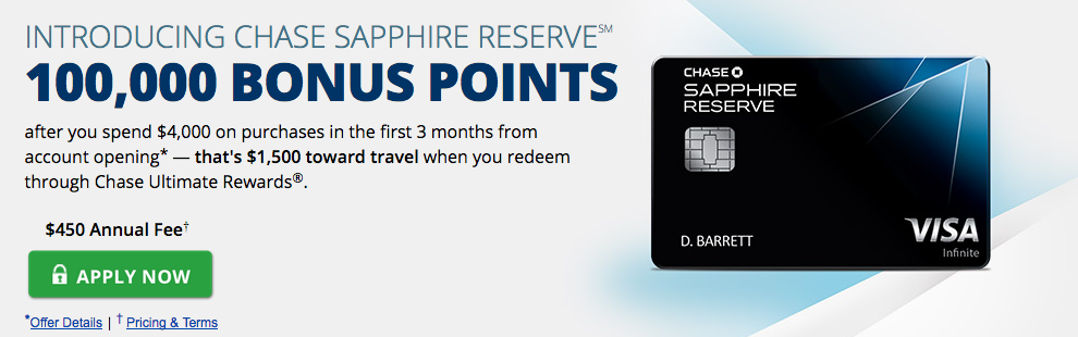 Chase Pre Approval >> Chase Sapphire Reserve Pre Approval Bypasses 5 24 Rule