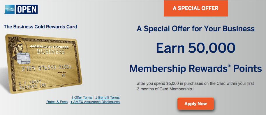 amex business gold rewards card sign up bonus - Business Gold Rewards Card