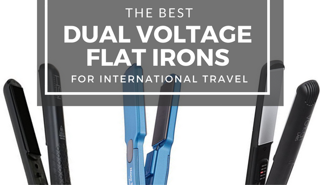 best-dual-voltage-flat-irons-for-international-travel