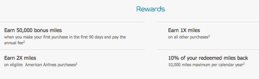 AAdvantage Aviator Red World Elite MasterCard Signup Bonus