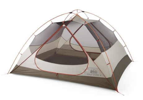 Best backpacking tent reviews - REI Half Dome 4 Tent