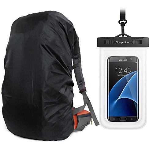 f01b6a212b01 Orange Sport MECOC UltraLight Backpack Rain Cover