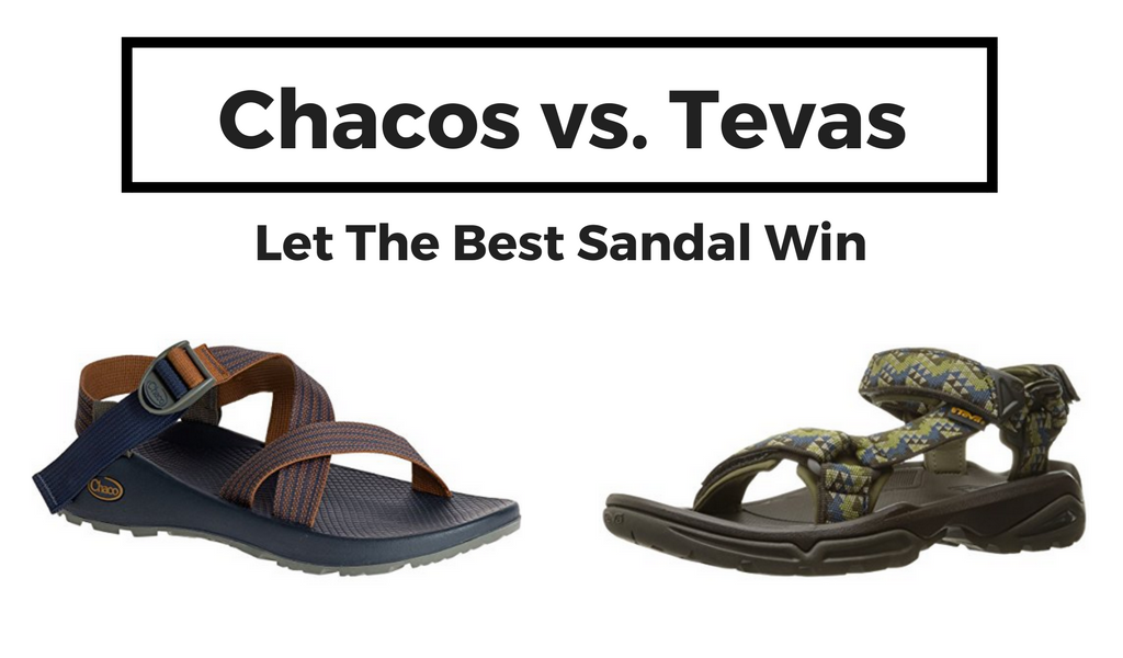 Chacos vs. Tevas what is the best sandal