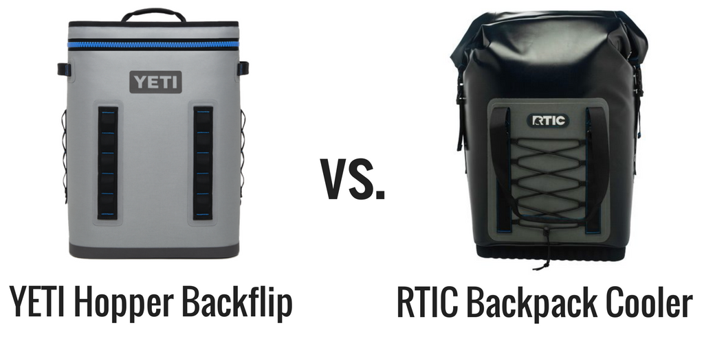 YETI vs RTIC Backpack Cooler