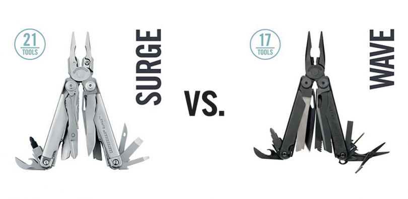 leatherman surge vs wave comparison