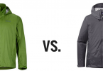 Patagonia Torrentshell vs Marmot PreCip comparison