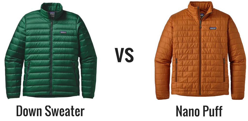 Patagonia Down Sweater Vs Nano Puff Whats The Best Insulated Jacket