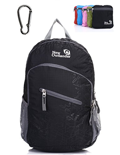 YARWAYER Foldable Daypack,Ultralight Packable Backpack for women girl teens,Durable Packable Hiking Daypack