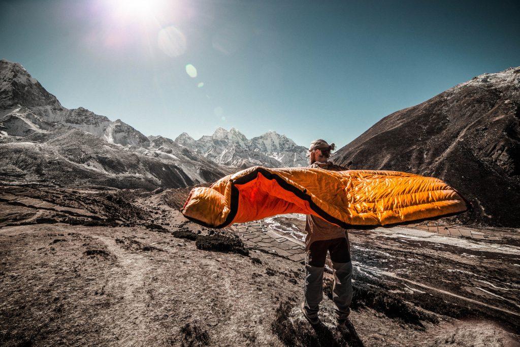 how-to-wash-down-sleeping-bag