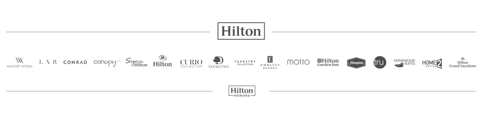 hilton hotel brands