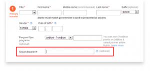 PreCheck online booking