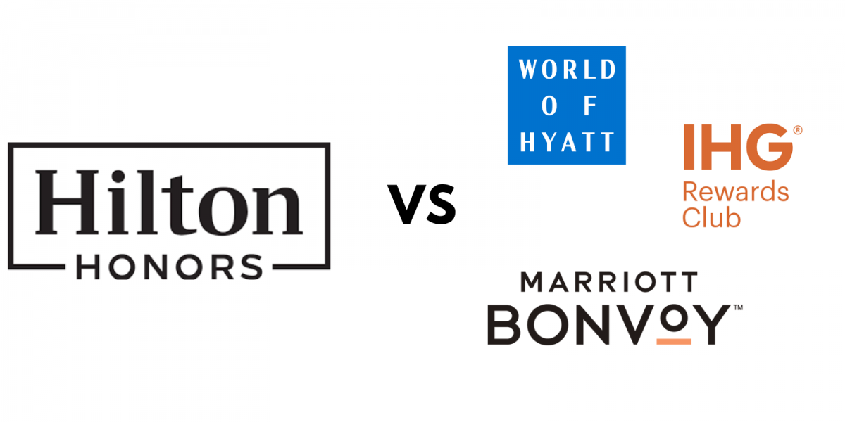 hilton honors vs marriott ihg hyatt