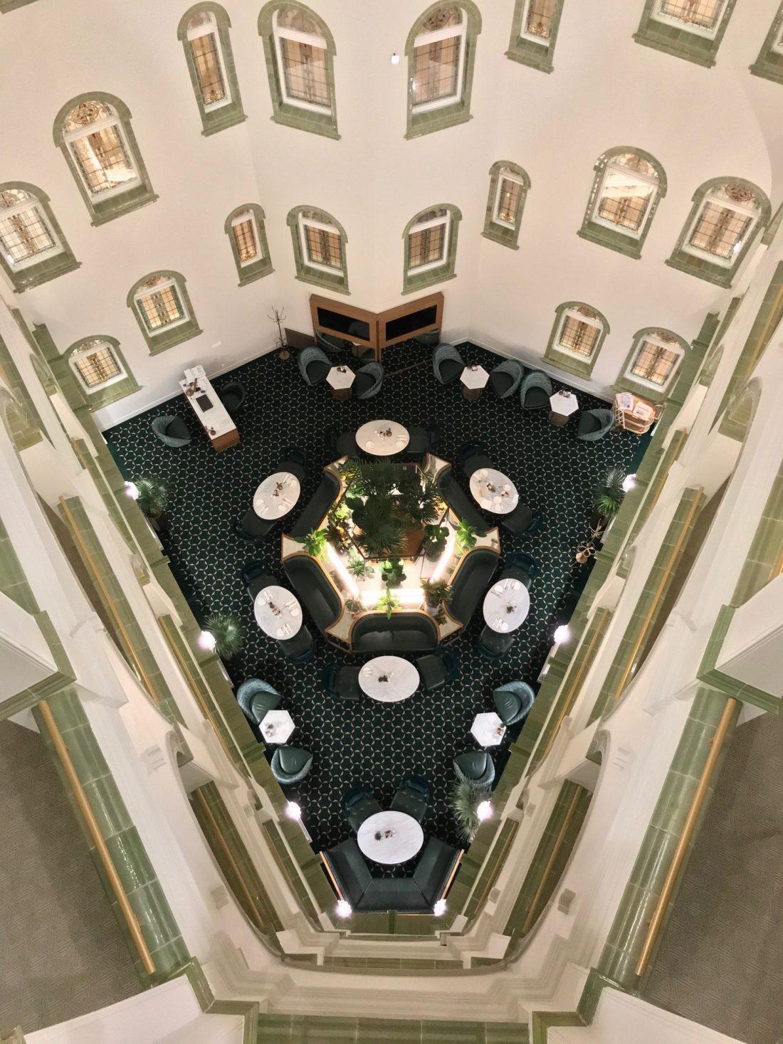 Parisi Udvar Hotel Budapest Club Lounge