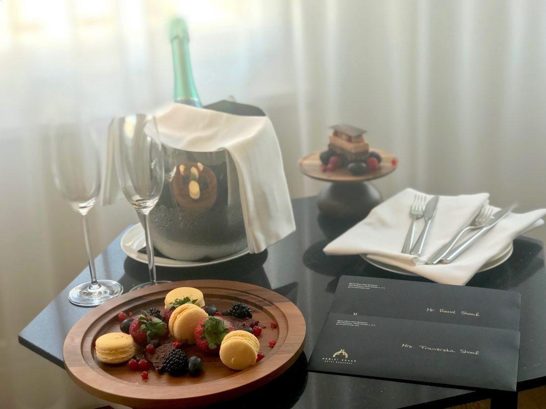 Parisi Udvar Hotel Budapest Welcome Gift