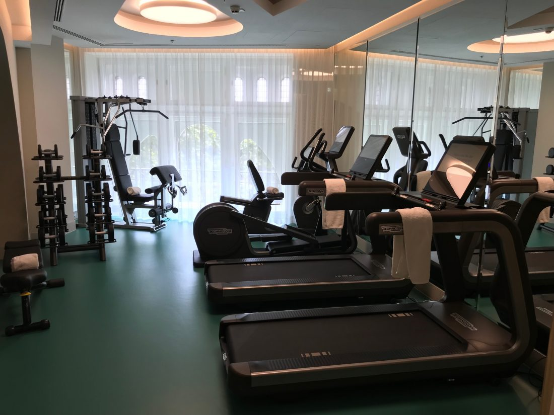 Parisi Udvar Hotel Budapest Fitness Studio