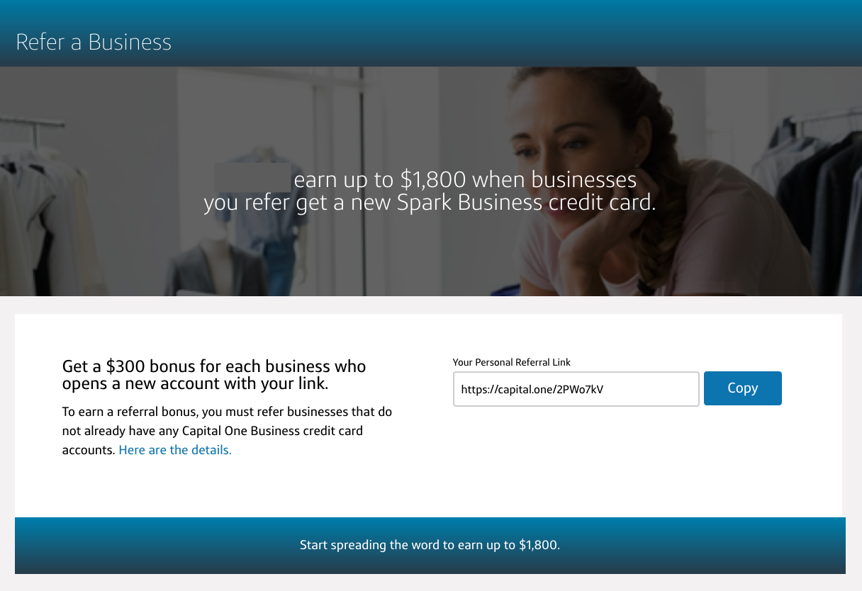Capital One Spark Business cards