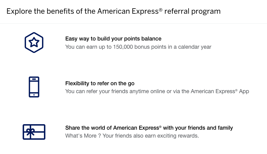 earn points with amex refer a friend