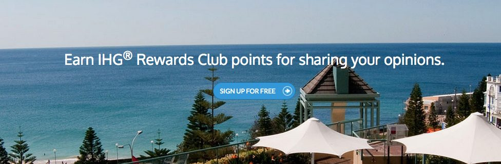 extend ihg points expiration with Opinion Check-In