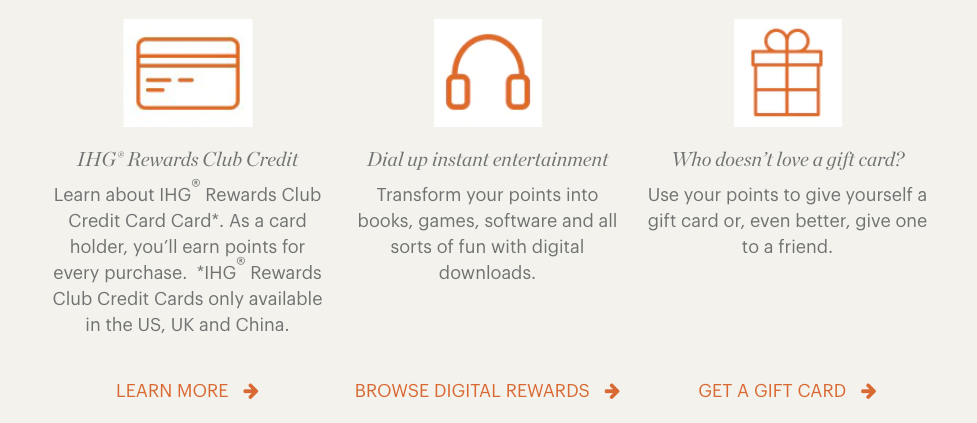 using ihg points to extend expiration date