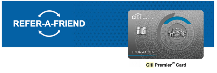citi credit card refer a friend