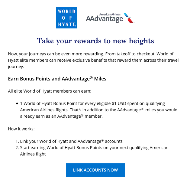 earn hyatt points with american airlines hyatt points expire