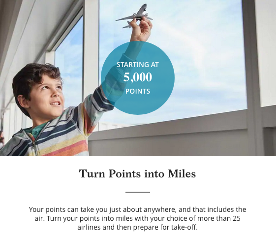 transfer hyatt points to miles