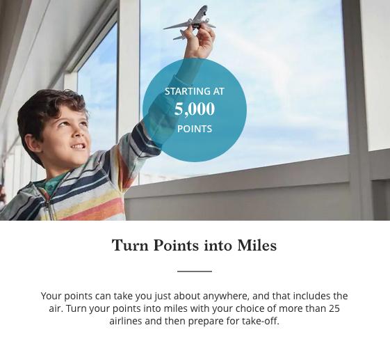 transfer hyatt points to miles