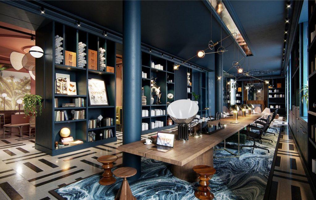 Hilton-Canopy-Hotel-Paris-Quartier-Latin-Lounge