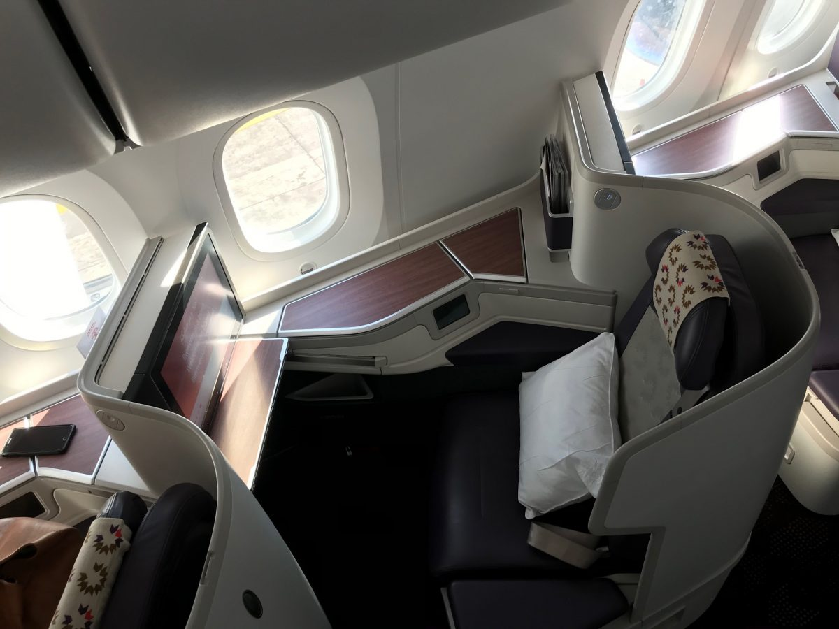 air maroc business class cabin3