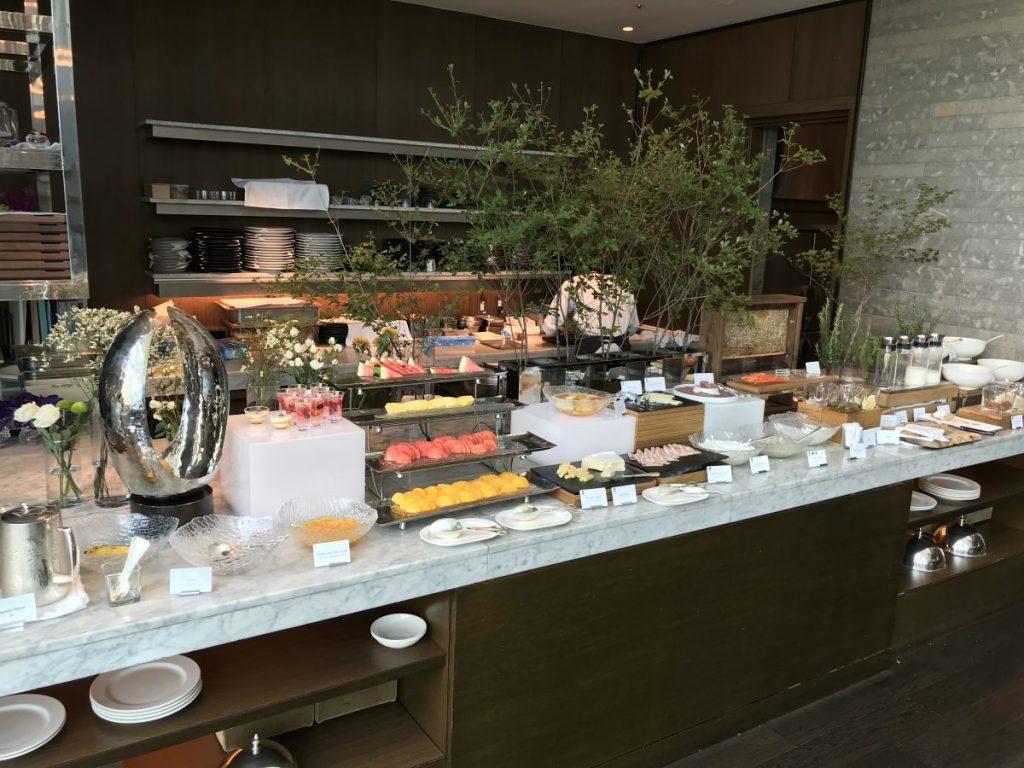 hilton conrad tokyo free breakfast with hilton gold status