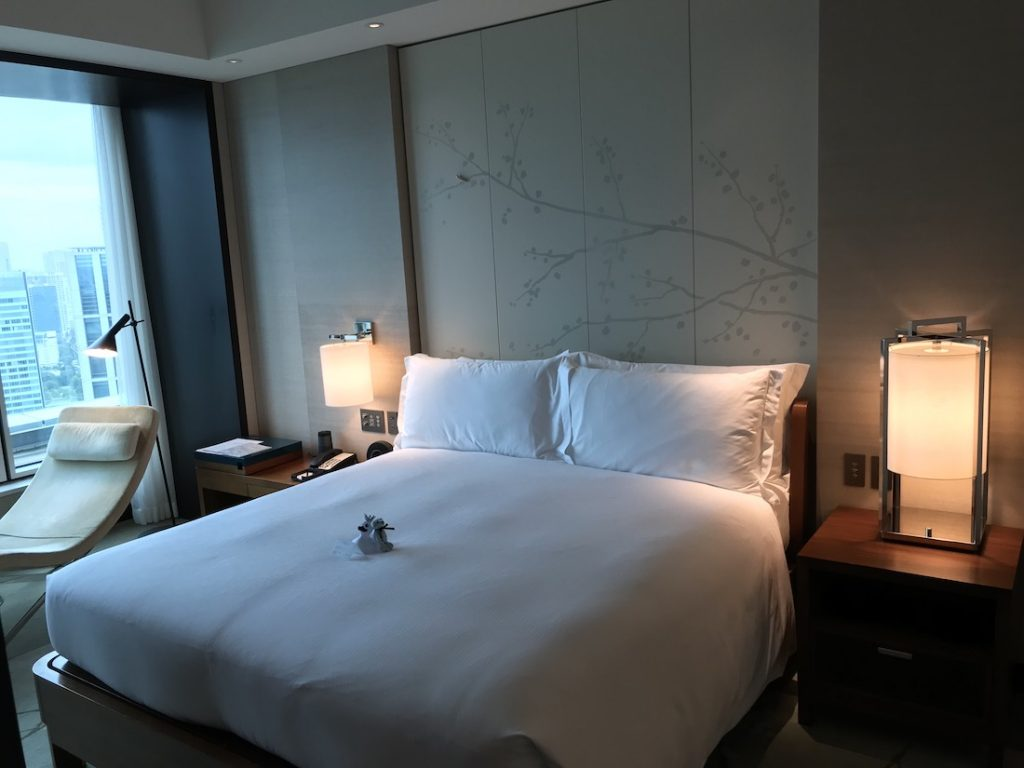 hilton conrad tokyo room