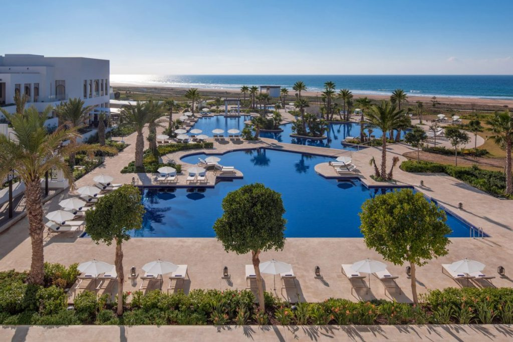 hilton hotels tangier al houara pool and beach