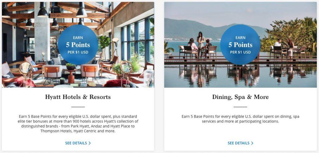 earn hyatt points at hotels