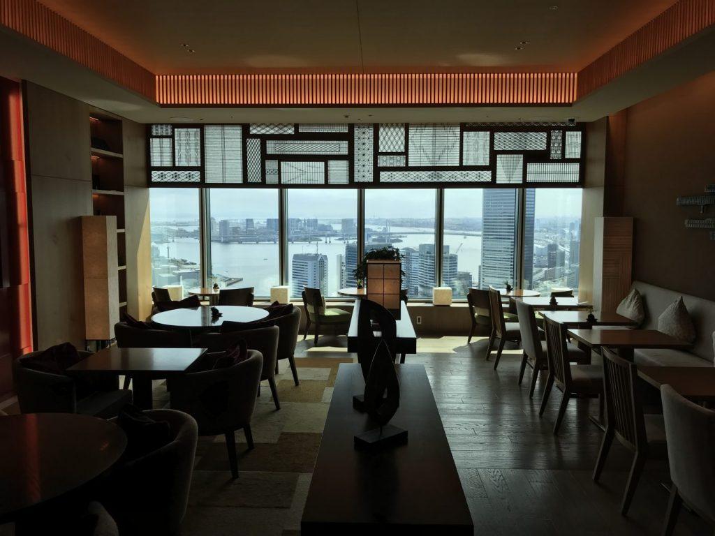hilton conrad tokyo executive lounge