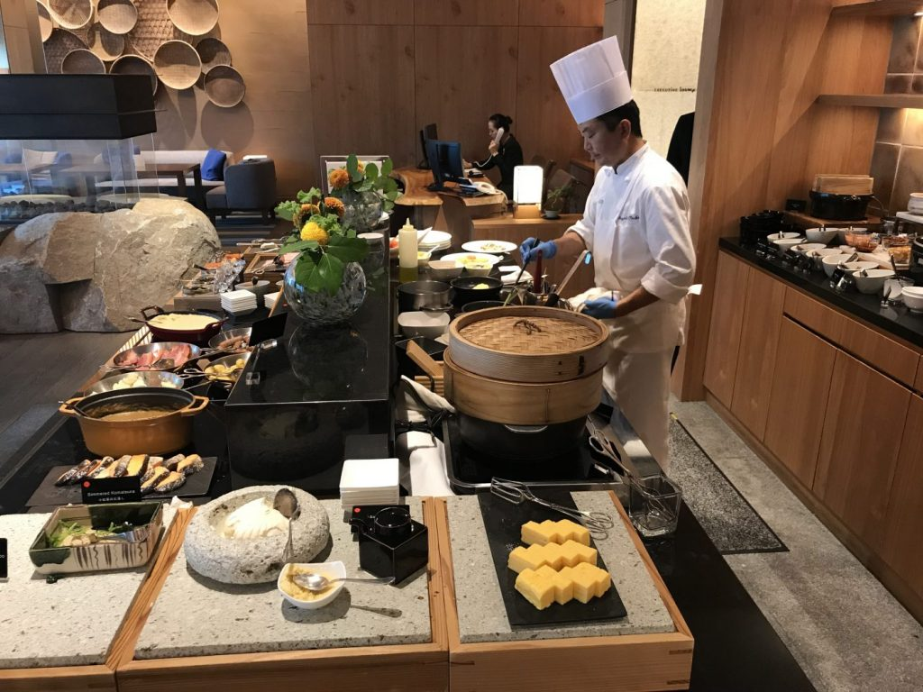 hilton conrad tokyo executive lounge breakfast 3