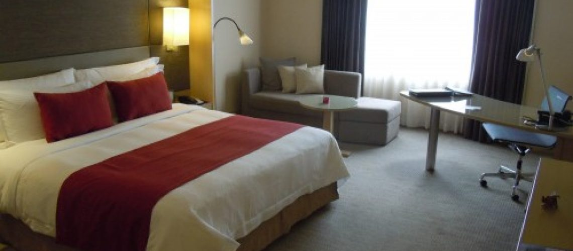 I recently stayed at the Crowne Plaza in Bangkok on PointBreaks