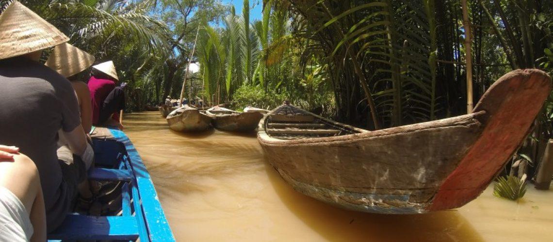 Mekong delta ho chi ming city vietnam